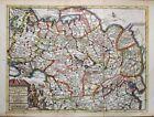 1729 Splendid Van der Aa Map of N.E. Asia, Russia, China, Korea