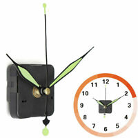 Silent Wall Quartz Clock Luminous Long Spindle Hand Mechanism Movement Repair