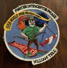 Rare Original 1958 Fighter Interceptor Squadron Patch Cotton ConstructionOriginal Period Items - 13982