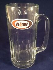 """A&W Root Beer All American Food Glass Mug 7"""" Tall, Large"""