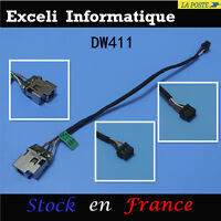 HP pavilion 15-b153nr conector de cable alimentación dc entrada jack enchufe