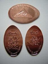 3 Prägemünzen SERFAUS Fiss Möseralm Österreich Quetschmünze Elongated Coin
