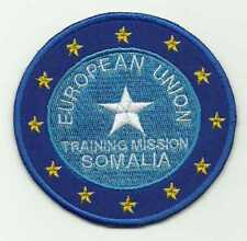 Insigne tissu, Patch EUROPEAN UNION TRAINING MISSION SOMALIE
