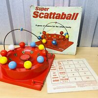 Vitage 50's Berwick Games SUPER SCATTABALL Electronic Board Game *VGC*