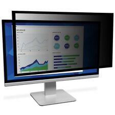 "3M Framed Privacy Filter for 24"" Widescreen Desktop LCD Monitor PF324W - Black"