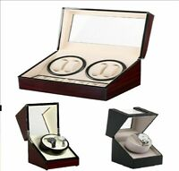 Watch Winder Display Box Automatic Rotation Storage 3 Sizes BA2