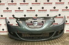 2006-2008 SEAT LEON COMPLETE FRONT BUMPER WITH FOG LIGHT AND GRILL P/C LS5V