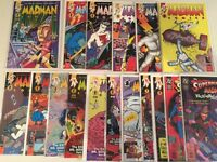 MadMan Comics #2, 3, 4, 5, 6, 7, 9, 11, 12, 13, 14, 15, 16 lot of 17 Allred