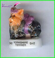 """Feve Les Races de Chien Dog Edition Atlas """" Le Yorkshire """"  #A35"""