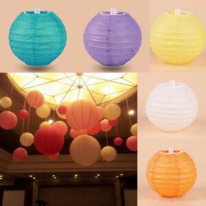 Abat-Jour Papier de Riz Pour Lampe Suspension Lustre Plafond Jaune Rouge