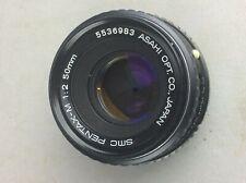 SMC Pentax - 1:2 50MM M Asahi Optical Co.. lente della fotocamera disponibili in tutto il mondo