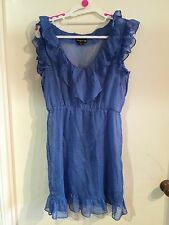 BlueJuice Dress - Blue - Size 10 (2 Layers)