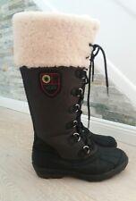 UGG Edmonton*Boots*Stiefel*Schuhe*Gr.38*(37,5)*Lammfell*Leder*schwarz*OVP*w.Neu
