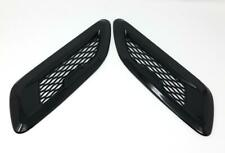 Gloss Black Dummy Hood Vents Model 9BB Compatible For Range Rover Evoque 12-18
