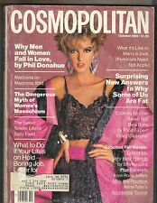 Terry Mayo Cosmopolitan Revista 10/85 Phil Donahue Madonna Wild Pc