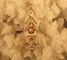 Diamond  And Pearl Pendant 10 K Yellow Gold @ A Village Coin Bullion 6/11/3 B