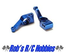 Traxxas 1952x Rear Stub Axle Carriers Blue Aluminum Slash 4x4 Rustler Stampede