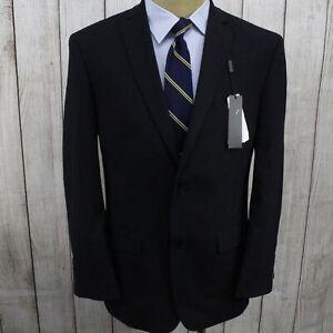 New 40R Marc New York Classic Fit Dual Vent Men's Black Suit OC1