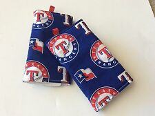 Handmade Texas Rangers Strap Covers/Suck Pads For Ergo & Other Carriers