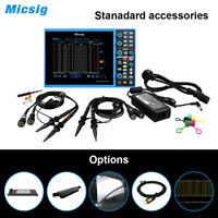 USA Stock Micsig STO1104C Plus Tablet Oscilloscope 100MHz 4CH Touchscreen+Button