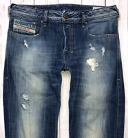 Mens DIESEL Zatiny Jeans W29 L32 Blue Bootcut Wash 008QL