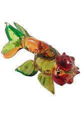 Miniature Goldfish Glass Blown animals figurine glass fish figurine Dollhouse