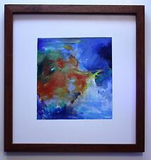 "Original Oil on Board ""Fire and Ice"" by Ross D Jahnig"