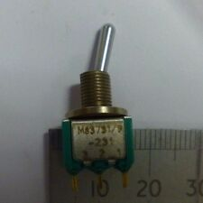 SWITCH,TOGGLE part no: M83731/9-231 nsn : 5930-01-160-8920