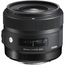 Sigma 30mm F1.4 DC HSM Art Lens in Canon EOS Fit (UK Stock) BNIB
