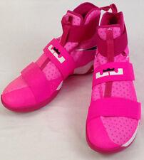 Nike LeBron James Soldier X Sz 14 Kay Yow Pink Blast Breast Cancer 844374-606