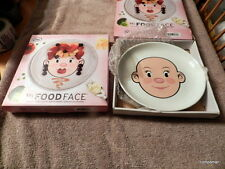 Fred & Friends Food Face Plates Ms Food Face Ms FOODFACE GET 2 Fast Free Shipped
