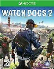 Watch Dogs 2 (Microsoft Xbox One, 2016) **