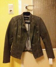 Echtlederjacke Gr S Gr 36 Lammleder Bikerjacke Leather Jacket Lamb leather