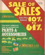 J.C. Whitney & Co Parts & Accessories 1982 050317nonDBE2