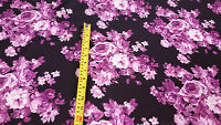 Print Scuba Heavy Weight Jersey Dress Lycra Stretch Printed Fabric Material