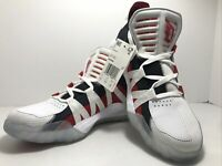 Adidas Dame 6 Dame Time Mens EH2069 White Scarlet Basketball Shoes Size 7.5 New