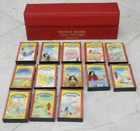 GIOCA E SUONA CON CRISTINA Lotto di 13 cassette + Raccoglitore