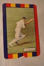 1953 - Vintage - Coles Cricket Card - English Cricketers - Tom Graveney