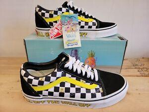 Vans X Sponge Bob Old Skool Limited Edition Sneakers Shoes for Men