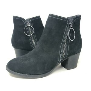 Skechers Taxi Single Ladies Heeled Boot Black Air Cool Memory Foam Womens Size 9
