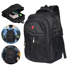 Mens Large Backpack Ruacksack Work Sports Travel Hiking School Laptop Bag LON