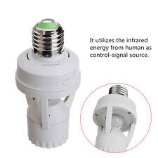 E27 to E27 IR Infrared Move sensor Led Nightlight Corridor Door Garden lamp