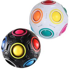 Magic Rainbow Puzzle Ball, Speed Cube Ball Fun Stress Reliever 3D STEM