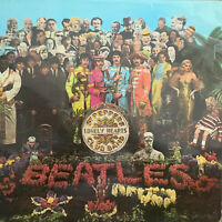 THE BEATLES Sgt. Pepper's Lonely Hearts Club Band~Rare 1969 UK vinyl LP pressing