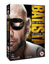 WWE Batista - The Animal Unleashed 3er [DVD] NEU