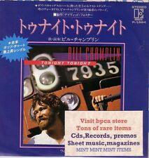 "7""JAPAN WHITE PROMO BILL CHAMPLIN OF CHICAGO TONIGHT TONIGHT MINT, DAVID FOSTER"