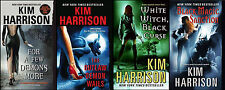 Hollows Series by Kim Harrison Books 5-8! Rachel Morgan Ivy Jenks Paranormal