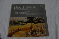 Beethoven 6 Capitol P8159 red label deep groove VG- LP VG- cover