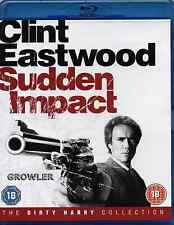 SUDDEN IMPACT - CLINT EASTWOOD - BLU-RAY - FILM POLICE DIRTY HARRY COP HD MOVIE