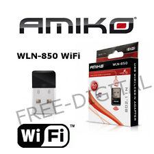 Amiko WLN-850 USB WiFi Dongle - Alien 8900, Alien 2, 8140, 8240, 8360 Mini Wi-Fi